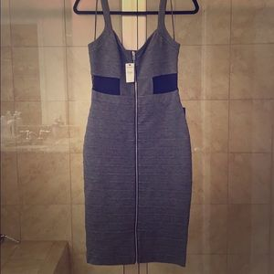 NWT Gorgeous Express fitted midi dress.